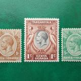 KUT colonii regele George V - nestampilate MH