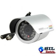 "Camera supraveghere exterior, alb, 26xLED IR 1.3""CCD 420 linii TV, Konig"