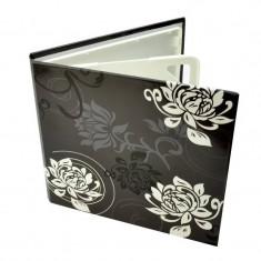 Carcasa Procart 4 cd dvd design floral culoare negru