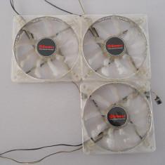 3 bucati Ventilator, Cooler Carcasa Enermax Led Blue. - Cooler PC Enermax, Pentru carcase