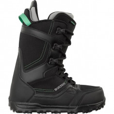 Vand Boots snowboard BURTON INVADER Negru/Verde marimea 10.5 - 43.5, pret 500
