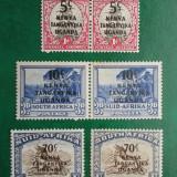 KUT colonii regele George VI supratipar - nestampilate MH