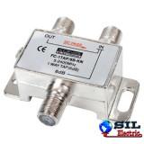 Spliter semnal TV satelit 6dB / 5-2400 MHz 1 iesire, Konig
