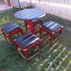 5 mese si 20 scaune - Set gradina