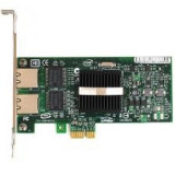 Placa de retea server Intel Pro/1000pt, PCI-Express x4, Dual Port