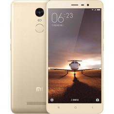 Smartphone Xiaomi Redmi Note 3 16GB Dual Sim auriu - Telefon Xiaomi, Neblocat