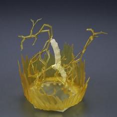 Dragonball Z Figure Rise Effect Aura Effect Yellow Version