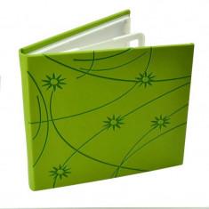 Carcasa Procart pentru 4 cd dvd bluray colorful piele ecologica culoare verde