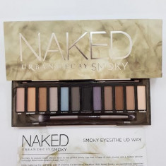 Trusa make up Naked Urban Decay Smoky 12 culori, Urban Decay