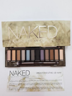 Trusa make up Naked Urban Decay Smoky 12 culori foto