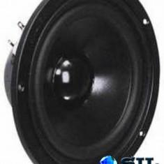 Woofer 6.5 cu bobina conica captusita si invelis din cauciuc elastic - Difuzor, Difuzoare bass, 41-80 W