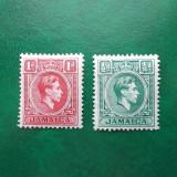 Jamaica colonii regele George VI - nestampilate MH