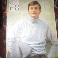Revista cinema anii 1966 1967 lot 4 buc c13 - Revista culturale