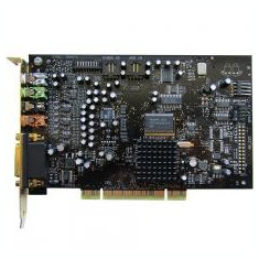 Placa de sunet Creative Sound Blaster SB0670 X-Fi PCI , cadou casca
