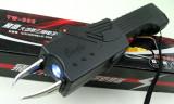 Electrosoc Baston Eagle TW-302 cu Lanterna si Husa