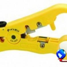 Dispozitiv universal pt. dezizolat cablu UTP/STP - RG59/6/7/11 Pro'sKit