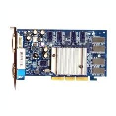 Placa video Second Hand nVidia Geforce FX 5200 64Mb, AGP, 2x DVI, V - Placa video PC