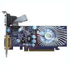 Placa video nVidia GeForce 9300GS, 512MB, 64Bit, DVI, VGA, - Placa video PC