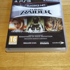 PS3 The Tomb Raider Trilogy HD - Anniversary, Legend, - joc original by WADDER - Jocuri PS3 Eidos, Actiune, 16+, Single player