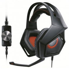 Casti Gaming Cu Microfon Asus Strix Pro Negru - Casca PC Asus, Casti cu microfon, USB