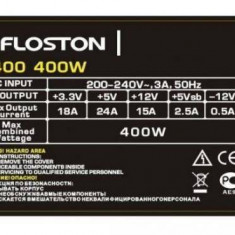 Sursa Floston FL400 400W - Sursa PC, 400 Watt