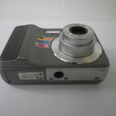Aparat foto digital BenQ C640 (functional, pentru piese) - Aparat Foto compact Benq, 5 Mpx, 3x, Compact, 2.5 inch