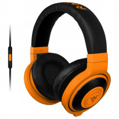 Casti Gaming Razer Kraken Mobile Neon Orange - Casca PC Razer, Casti cu microfon