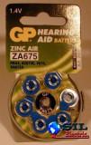 Baterie pentru aparat auditiv GP 11.6X3.6 mm, G&P