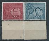 1941 Romania,LP 142 III-Vasile Marin si Ion Mota-MNH, Oameni, Nestampilat