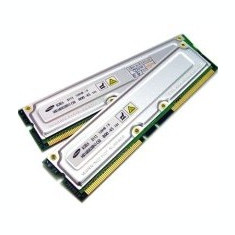 Kit Memorie server 256Mb, 2x 128Mb, RDRAM