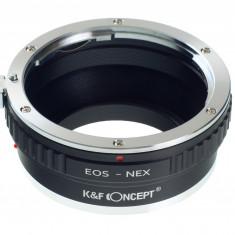 Kent Faith EOS-NEX adaptor montura Canon EOS la Sony E-Mount (NEX) - Inel adaptor obiectiv foto