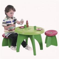 Set Masuta Cu Scaunele - Casuta copii Ecoiffier