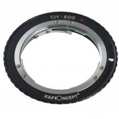 Kent Faith C/Y-EOS adaptor montura Contax/Yashica la Canon EOS - Inel adaptor obiectiv foto