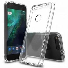 Husa Protectie Spate Ringke Fusion Clear plus folie protectie display pentru Google Pixel
