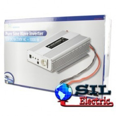 PURE SINE 12V->230V 1KW - Invertor