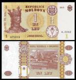 SV * Moldova  LOT  2 x 1  LEU  2010  si  2015     UNC