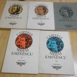 CAIETELE MIHAI EMINESCU - 5 VOL. ( 1, 2, 3, 5, 6) - Carte Cultura generala