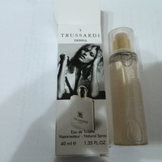 PARFUM 40 ML TRUSARDI DONNA --SUPER PRET, SUPER CALITATE! - Parfum femeie Trussardi, Apa de toaleta