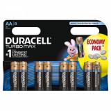 Baterie Duracell Turbo Max AA LR 06 8buc Negru - Baterie Aparat foto