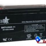 Acumulator plumb acid 6V 10AH, HQ