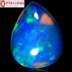 * Piatra naturala Opal - Rainbow - 4.53 ct - certificat