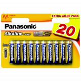 Baterii Panasonic Alkaline Power LR6APB/20 Set