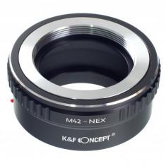Kent Faith M42-NEX adaptor montura M42- Sony E-Mount (NEX) - Inel adaptor obiectiv foto