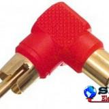 Adaptor RCA tata RCA mama HKD ROSU - Cablu PC