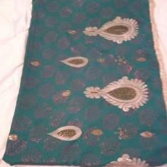 Saree Indiene/India Cu Broderie, Marime: Marime universala, Culoare: Din imagine