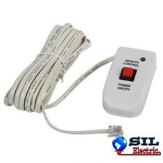 Telecomanda pentru invertor cu cablu, 6 metri, HQ