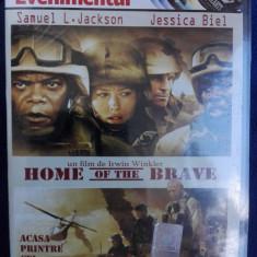 Home of the brave Acasa printre cei curajosi - Film actiune, DVD, Romana