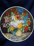 Farfurii decorative vintage  pictate,colectie privata Bridgeman, de colectie