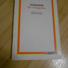 AUGUSTIN--DE MAGISTRO - Filosofie