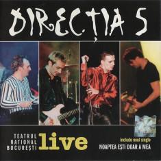 Directia 5 - Live (la Teatrul National Bucuresti) (1 CD) - Muzica Rock cat music